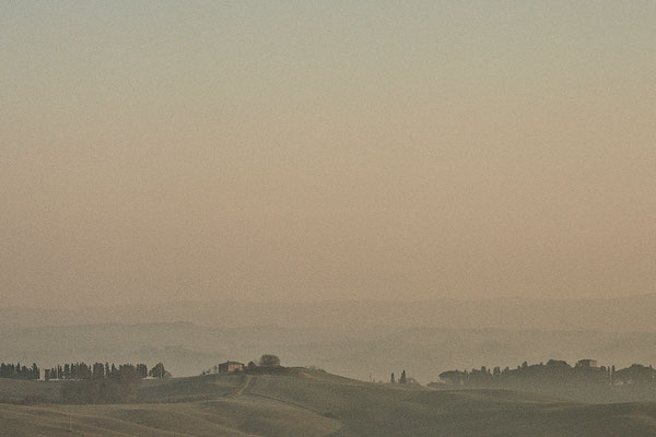 Crete Senesi, Winter No. 6
