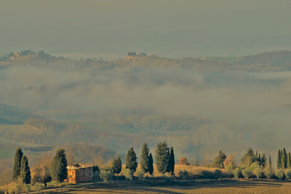 Crete Senesi, Winter No. 2