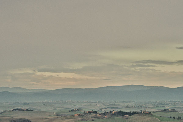 Crete Senesi, Winter  No. 10
