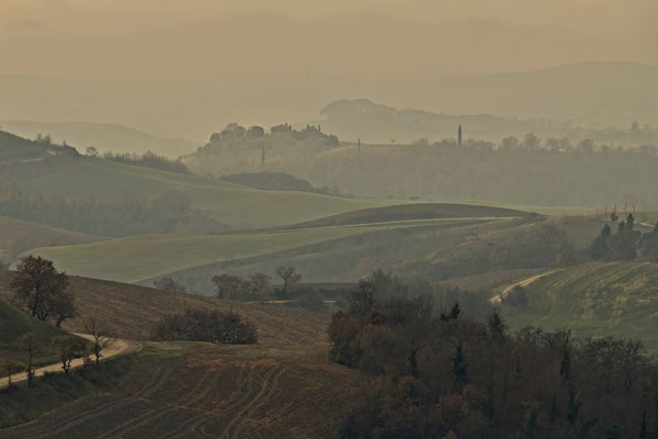 Crete Senesi, Winter No. 34