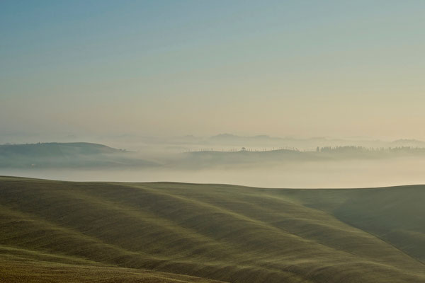 Crete Senesi, Winter No. 5