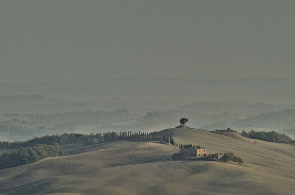 Crete Senesi, Autumn No. 10