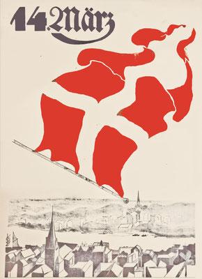 Plakat für die Volksabstimmung, 1920