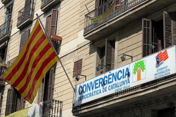 """Niederlassung der """"Nationalistischen Jugend Kataloniens"""", Barcelona, 2006"""