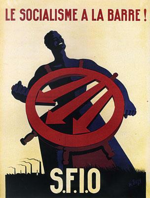 Plakat der französischen Sozialisten, 1946
