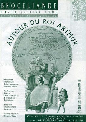 Artus mit Bären-Wappen, Zeitschrift des Centre de l' Imaginaire Arthurien, 1998