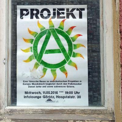 Plakat, Görlitz, 2016.