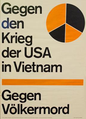 Plakat der APO, um 1967