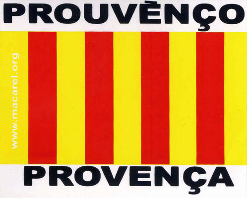 Autoaufkleber aus der Provence, Anfang des 21. Jahrhunderts