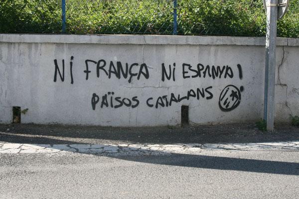 Sgraffito, Prades, Frankreich, 2010