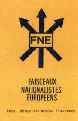 Emblem der FNE, 1970er Jahre
