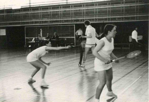Stadtmeisterschaften 1973 mit Christa Franzen und Sigrid Kremer
