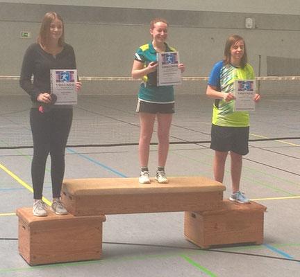 Birte 3. Platz Einzel U19