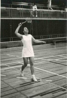 Stadtmeisterschaften 1973 mit Christa Franzen