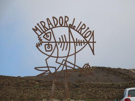 Mirador del Rio, Architektur von César Manrique
