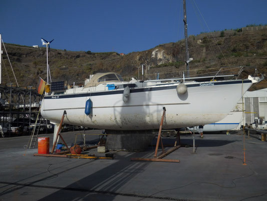 Und jetzt sind wir nur noch ein Motorboot an Land! ;-(