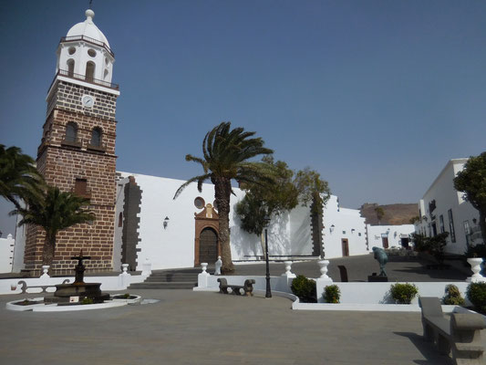 Die Kirche in Teguise