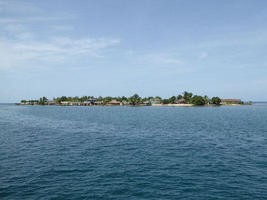 Kuna Zivilisation von See (Nargana)