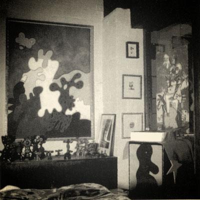 Atelier in der ehemaligen Schmiede in Norddinker, 1996