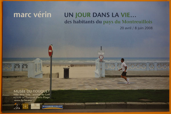 """Affiche """"Marc Vérin, un jour dans ma vie"""""""