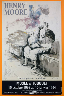 """Affiche """"Henry Moore"""""""