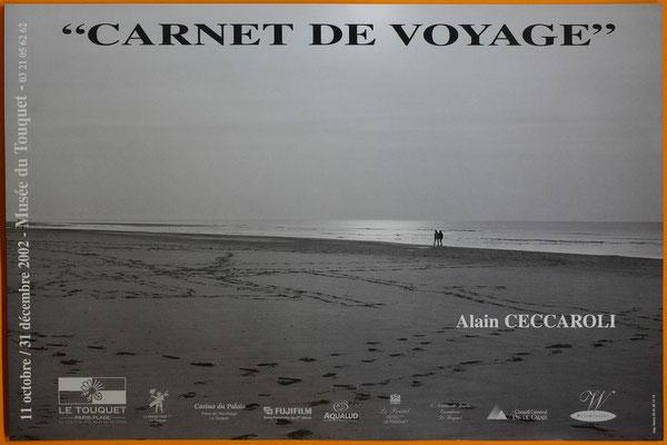 "Affiche ""Carnet de voyage, Alain Ceccaroli"""