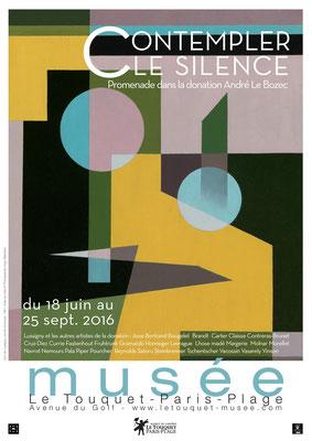 """Affiche """"Contempler le Silence"""""""