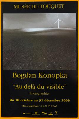 """Affiche """"Bogdan Konopka, au delà du visible"""""""