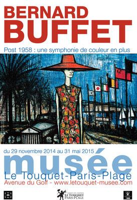 """Affiche """"Bernard Buffet"""""""