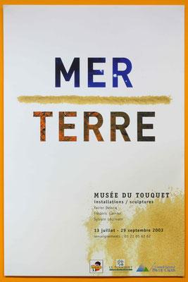 """Affiche """"Terre / Mer"""""""