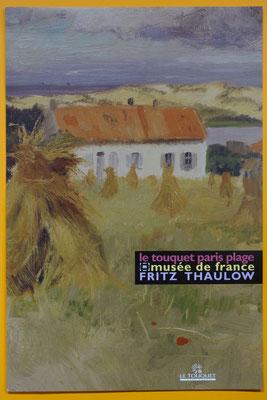 """Affiche """"Fritz Thaulow"""""""