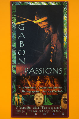 """Affiche """"Gabon Passions"""""""