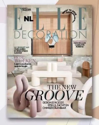 Sky floor op de cover van Elle decoration