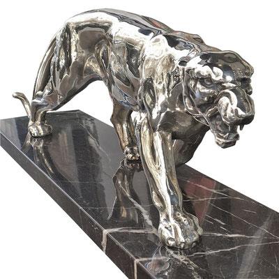 Art Deco Panther, Artdeco Panther, Artdeco Skulptur. Art Deco Skulptur, Panther