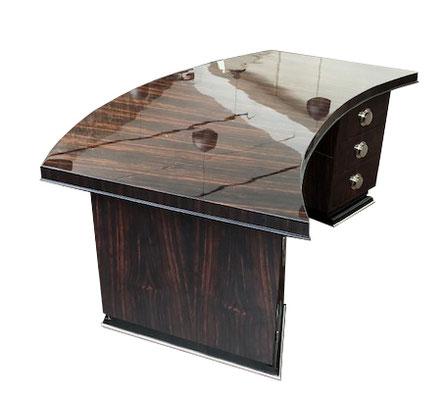 Art Deco Schreibtisch, Artdeco Schreibtisch, Art Deco buro plat