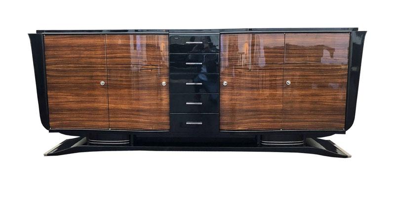 Art Deco Sideboard, Art Deco anrichte, Art Deco Buffet, exclusives Sideboard