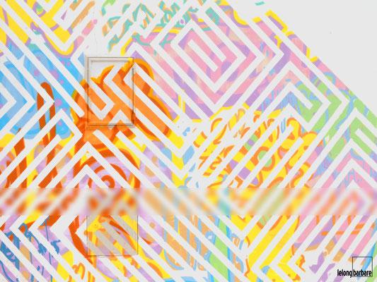 le long barbare photographie - labyrinthe - street art - caracol da graça - lisbonne - portugal - 20151029