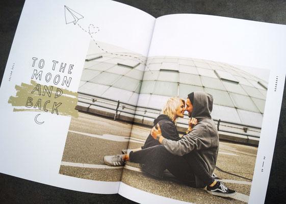 Fotobuch auf Naturpapier