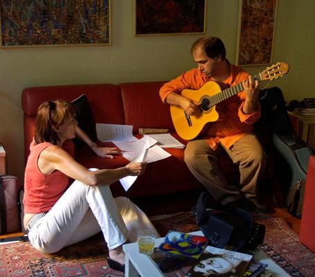 with Nelson Faria, Rio de Janeiro