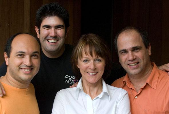 with Nosso Trio
