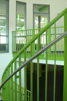 Schönbrunnenhalle Essingen, Bsp. Farbkonzept