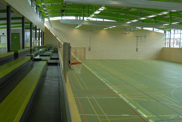 Schönbrunnenhalle Essingen, Sportbereich