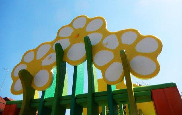 Cespuglio 2 torri - Stileurbano giochi per parco attrezzature per parco giochi