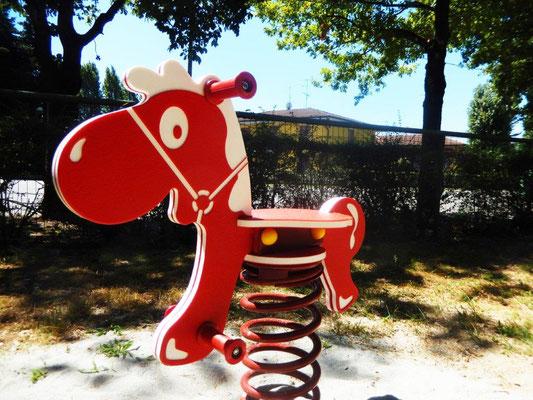Gringo gioco a molla Comune di Pieve del Cairo (Pavia) giochi per parco Stileurbano attrezzature per parco giochi