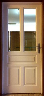 Kranz | Rahmentüre mit Holz- und Glasfüllung