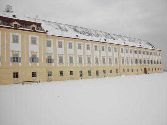 Kranz | Schloss Hof Südfassade