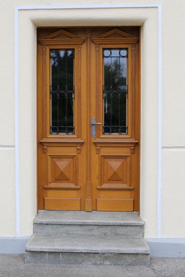 Kranz | Haustüre, Nachher