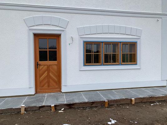 Kranz Fenster + Türe
