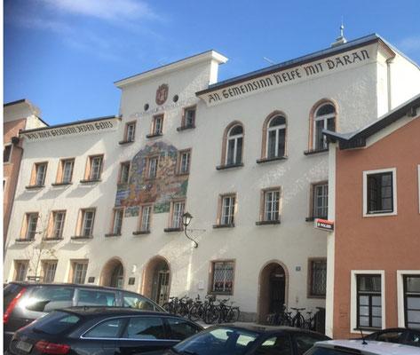 Kranz | Rathaus, Hallein