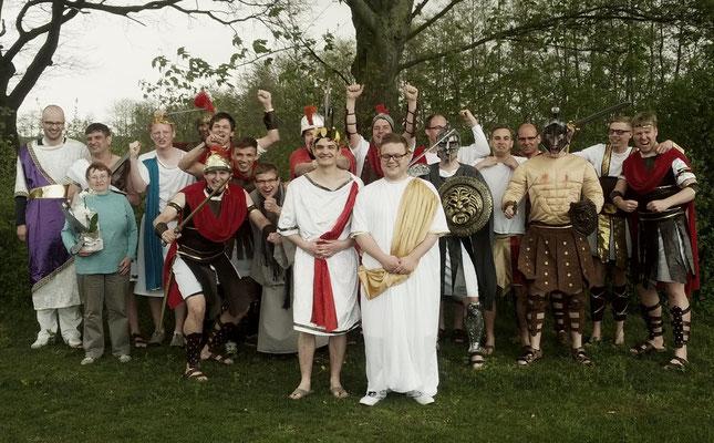 Karfreitag Römer und Gladiatoren
